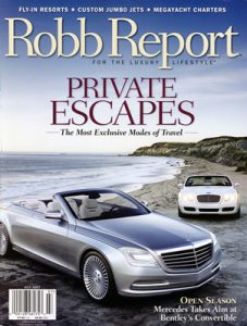Robb Report Subscription Information